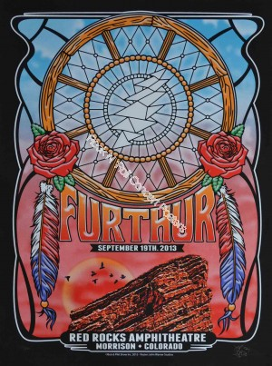 Furthur (Grateful Dead) Red Rocks Amphitheatre September 19th 2013 Night 1 Show Edition