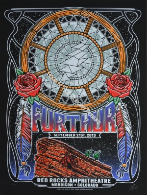 Furthur (Grateful Dead) Red Rocks Amphitheatre September  22nd 2013 Night 3 Official 1st edition