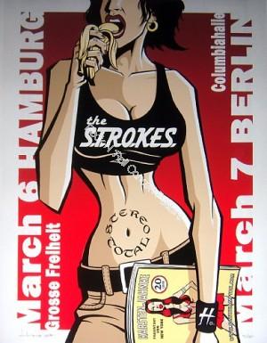 The Strokes Hamburg & Berlin 3/6-7/02 BY Justin Hampton